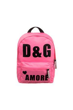 PINK BACKPACK DOLCE E GABBANA KIDS GIRL Dolce & Gabbana kids | 279895521 | EB0078AZ674HFF57