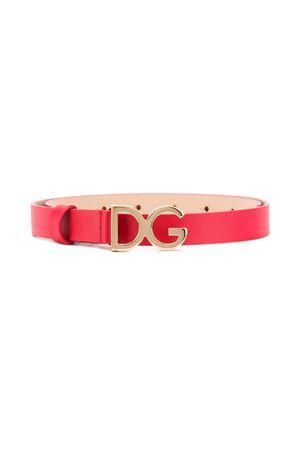 RED BELT SWEET GIRL AND GABBANA KIDS Dolce & Gabbana kids | 22 | EE0040A167587124