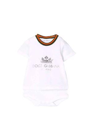 DOLCE E GABBANA KIDS NEWBORN SUIT Dolce & Gabbana kids | 32 | L1JO9RG7RZHW0800