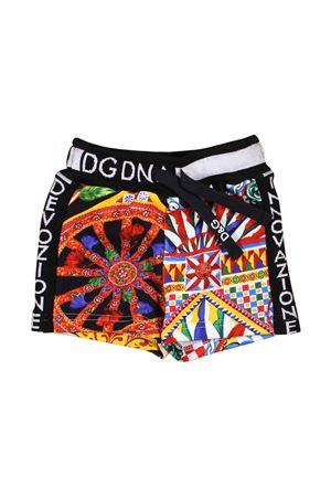 BERMUDA FANTASIA DOLCE E GABBANA KIDS Dolce & Gabbana kids | 5 | L1JQE9G7SFAHHY98