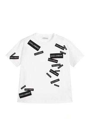WHITE T-SHIRT DOLCE&GABBANA KIDS Dolce & Gabbana kids | 8 | L4JT7NG7RIGW0800