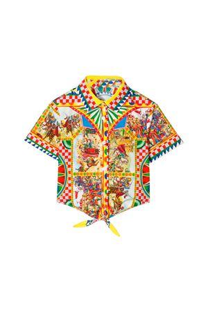 GIRL SHIRT DOLCE E GABBANA KIDS  Dolce & Gabbana kids | 6 | L54S05G7SLMHHY85