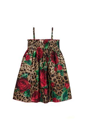 LEOPARDED DRESS DOLCE E GABBANA KIDS Dolce & Gabbana kids | 11 | L5JD0GHS5CMHKIRS