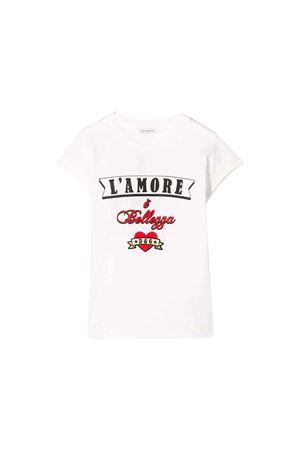 WHITE GIRL T-SHIRT DOLCE E GABBANA KIDS Dolce & Gabbana kids | 8 | L5JTCVG7RMDHWK59