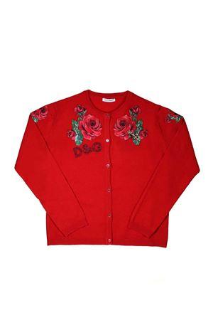RED CARDIGAN DOLCE E GABBANA KIDS Dolce & Gabbana kids   39   L5KW39JAVMMR0367