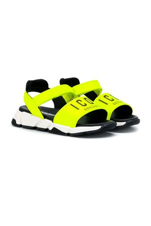 DSQUARED2 KIDS YELLOW SANDALS  DSQUARED2 KIDS | 12 | 598061
