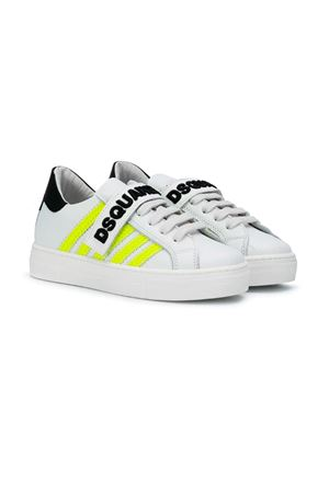 WHITE SNEAKERS DSQUARED2 KIDS FOR BOY DSQUARED2 KIDS | 12 | 598581