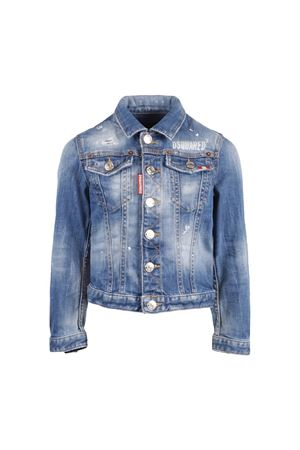 DENIM JACKET DSQUARED2 KIDS TEEN DSQUARED2 KIDS | 3 | DQ01GTD00TFDQ01T