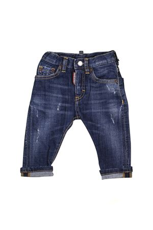 JEANS BLU SCURO NEONATO DSQUARED2 KIDS DSQUARED2 KIDS | 9 | DQ01TCD00TGDQ01