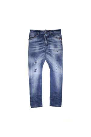 JEANS DSQUARED2 KIDS LIGHT WASH DSQUARED2 KIDS | 9 | DQ02VDD00TFDQ01