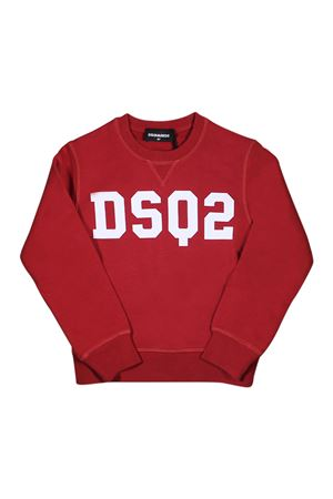 RED SWEATER DSQUARED2 KIDS  DSQUARED2 KIDS | -108764232 | DQ03AFD00J7DQ415
