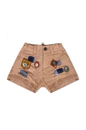 NEWBORN BEIGE SHORTS DSQUARED2 KIDS DSQUARED2 KIDS | 5 | DQ03BZD00TTDQ709