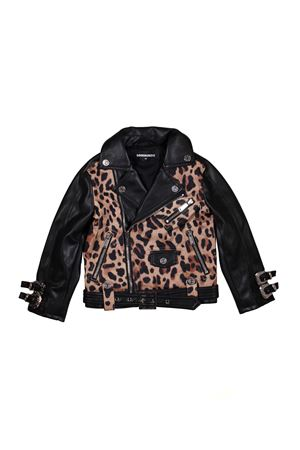 GIACCA MODELLO CHIODO ANIMALIER DSQUARED2 KIDS TEEN DSQUARED2 KIDS | 3 | DQ03CCD00TQDQC08T