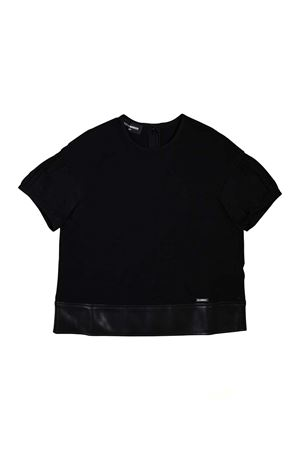 DSQUARED2 KIDS TEEN BLACK T-SHIRT  DSQUARED2 KIDS | 8 | DQ03CDD00A8DQ900T