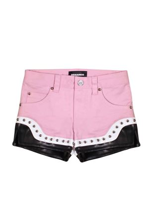 PINK SHORTS DSQUARED2 KIDS FOR GIRL DSQUARED2 KIDS | 30 | DQ03DLD00TSDQ309