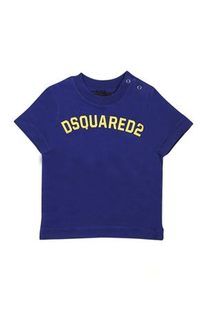 DSQUARED2 KIDS BLUE T-SHIRT DSQUARED2 KIDS | 8 | DQ03FFD00RIDQ861