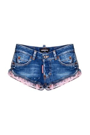 DENIM SHORTS DSQUARED2 KIDS FOR GIRL  DSQUARED2 KIDS | 9 | DQ03HDD00UBDQ310