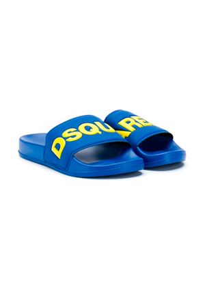BLUE SLIPPERS DSQUARED2 KIDS  DSQUARED2 KIDS | 5032315 | DY0001P2339H7334T