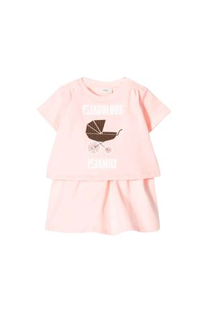PINK DRESS FENDI KIDS GIRL FENDI KIDS | 11 | BFB1978RAF0C11