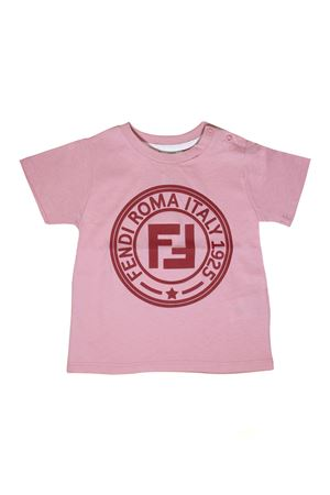 PINK T-SHIRT FENDI KIDS FENDI KIDS | 8 | BUI0037AJF0AU4