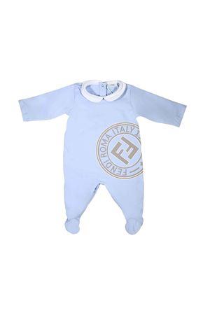 BLUE NEWBORN SUIT FENDI KIDS  FENDI KIDS | 1491434083 | BUL024ST8F0AU0