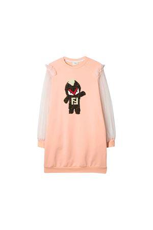 PINK DRESS FENDI KIDS  FENDI KIDS | 11 | JFB2395V0F15A5