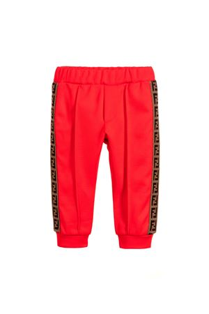 RED JOGGING FENDI KIDS FENDI KIDS | 9 | JFF125A69DF0QC9