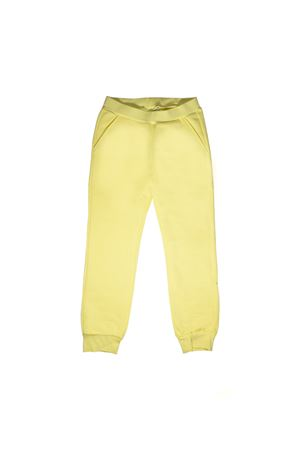 YELLOW CHAMOMILE FENDI KIDS TROUSERS FENDI KIDS | 9 | JFF1445V0F0C06