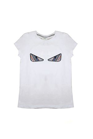 FENDI KIDS T-SHIRT WITH PRINTING EYEWEAR FENDI KIDS | 8 | JFI1477AJF0QA0