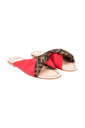 RED GIRL SANDALS FENDI KIDS FENDI KIDS | 5032315 | JFR277A62FF15FM