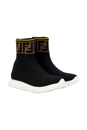 BLACK SOCK SNEAKERS FENDI KIDS  FENDI KIDS | 12 | JMR257A62LF15GD