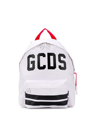 WHITE BACKPACK GCDS KIDS  GCDS KIDS | 279895521 | 019434001
