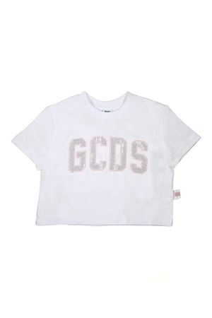 WHITE SHORT TOP GCDS GCDS KIDS | 8 | 019440001