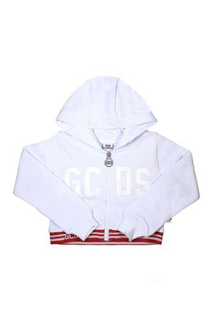 WHITE SHORT SWEATSHIRT GCDS KIDS TEEN GCDS KIDS | -108764232 | 019460001T
