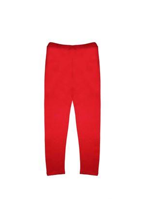 RED GCDS LEGGINS  GCDS KIDS | 411469946 | 019466040