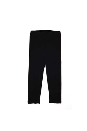 BLACK LEGGINS GCDS TEEN  GCDS KIDS | 411469946 | 019466110T