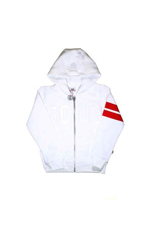 WHITE SWEATSHIRT WITH HOOD GCDS KIDS TEEN GCDS KIDS | -108764232 | 019487001T