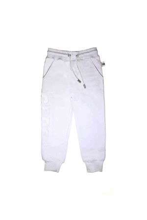 WHITE TROUSERS JOGGING GCDS KIDS  GCDS KIDS | 9 | 019490001