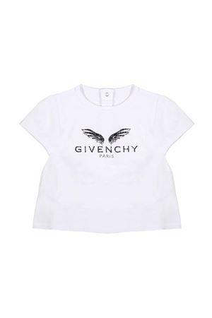 WHITE BABY T-SHIRT GIVENCHY KIDS  Givenchy Kids | 8 | H0507810B