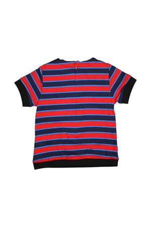 NEWBORN BLUE AND RED STRIPED T-SHIRT GIVENCHY KIDS Givenchy Kids | 8 | H05081X78