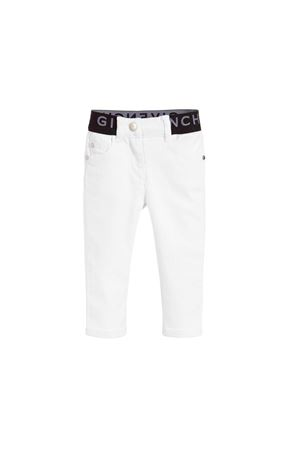 WHITE TROUSERS GIVENCHY KIDS TEEN  Givenchy Kids | 9 | H1405510BT