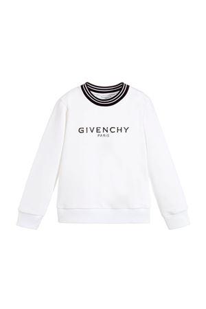 WHITE SWEATSHIRT GIVENCHY KIDS Givenchy Kids | -108764232 | H1510010B