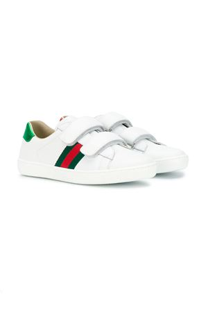 WHITE GUCCI KIDS SNEAKERS  GUCCI KIDS | 12 | 455496CPWP09085