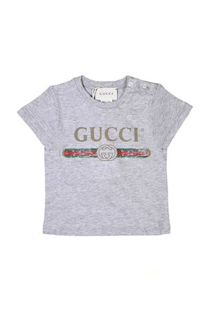 GREY T-SHIRT GUCCI KIDS FOR BOY GUCCI KIDS | 8 | 504121X3L641676
