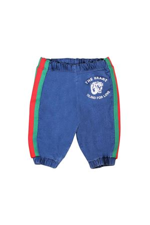 BLUE DENIM PANTS FOR BOY GUCCI KIDS  GUCCI KIDS | 9 | 547187XJAHD4206