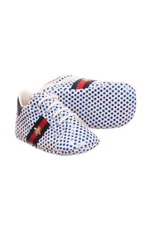 GUCCI KIDS BABY LACE-UP SHOES GUCCI KIDS | 12 | 552923BKPI04065