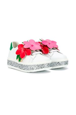 WHITE GIRLS SHOES GUCCI KIDS  GUCCI KIDS | 12 | 5530500IIS09067
