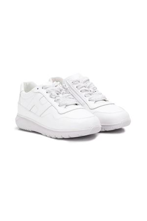 WHITE SNEAKERS BABY HOGAN KIDS  HOGAN KIDS | 12 | HXT3710AP30FH5B001