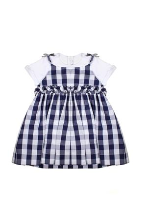 NEWBORN DRESS WITH WHITE SUIT IL GUFO JUNIOR IL GUFO | 42 | P19DP278C3105490