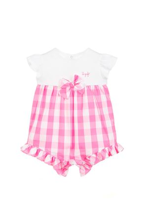 PINK CHESS NEWBORN SUIT IL GUFO JUNIOR  IL GUFO | -1617276553 | P19TO190C31053501